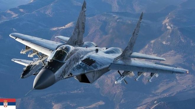 Nga nói là làm: Tiêm kích MiG-29 đã kịp thời có mặt ở Belgrade đúng hạn - Ảnh 1.