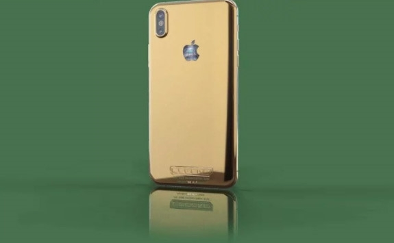 Nhung chiec iPhone X sang chanh ma vang, kham kim cuong hinh anh 1