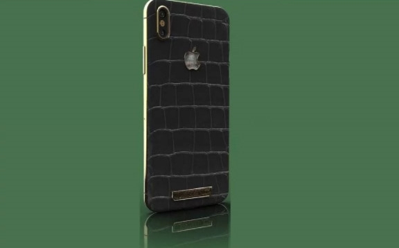 Nhung chiec iPhone X sang chanh ma vang, kham kim cuong hinh anh 2