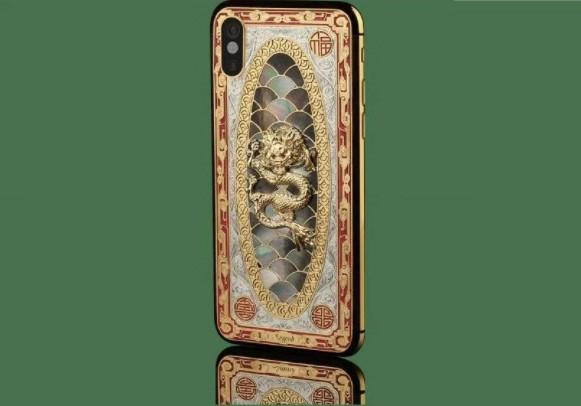 Nhung chiec iPhone X sang chanh ma vang, kham kim cuong hinh anh 5