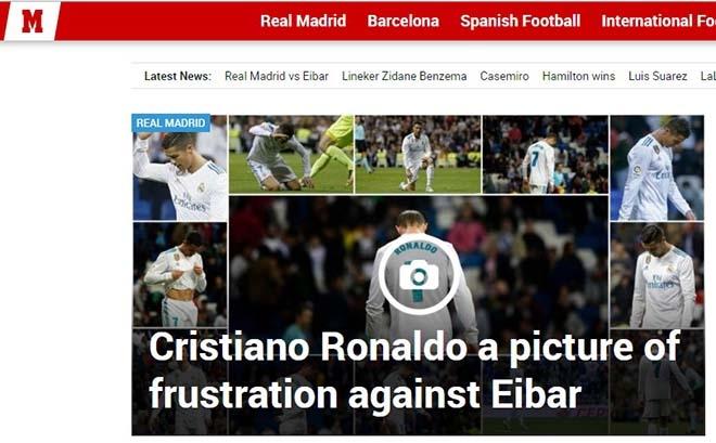 """Tồi tệ Ronaldo: Báo thân Barca """"đánh hội đồng"""", Balotelli được thể sỉ nhục - 1"""